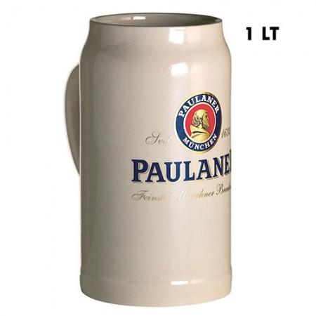 Boccale Paulaner Ceramica 1 LT x6pz