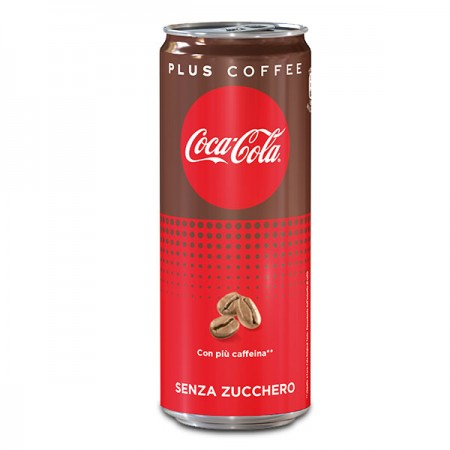 Coca Cola Plus Coffee Lattina 25cl
