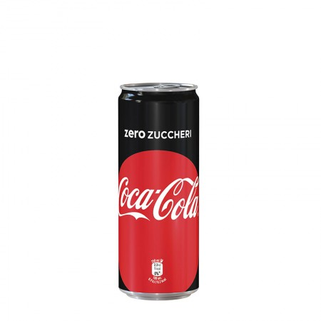 Coca Cola Zero Mini Lattina 25 cl
