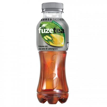Fuzetea Zero Limone e Lemongrass Senza Zuccheri PET 40cl