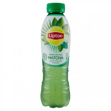 Lipton Tè Verde Matcha Cetriolo e Menta 50 cl plastica