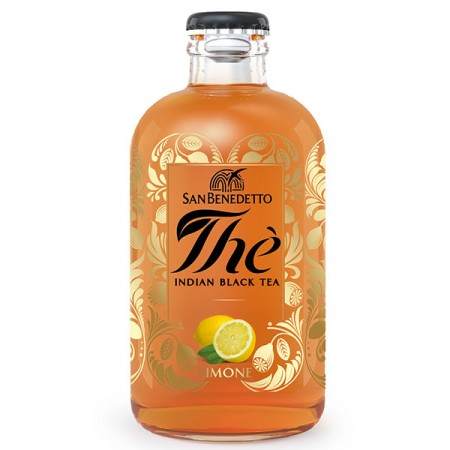 The San Benedetto premium Indian Black Tea Limone 25cl
