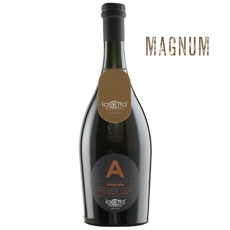 La Cotta Ambrata Birra Artigianale Magnum 1,5 Lt