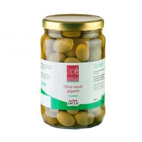 Apè Olive Verdi Giganti in Salamoia 1,6 kg