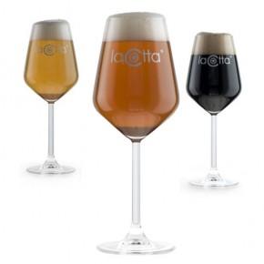 Bicchiere Calice Birra La Cotta x6