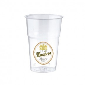 Bicchiere Menabrea Plastica 30 cl