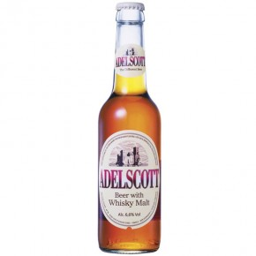 Adelscott 33 cl Birra Doppio Malto al Whisky