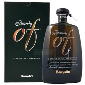 Brandy Bonollo Of Stravecchio Barrique 70 cl