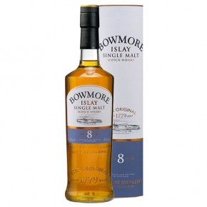 Bowmore Scotch Whisky 8 Anni Astucciato -Vendita Online