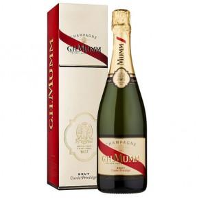 Champagne Mumm Cuvée Privilege Brut 75cl Astucciato