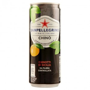 Chinò Sanpellegrino Lattina 33 cl