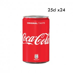 coca cola lattina 25cl