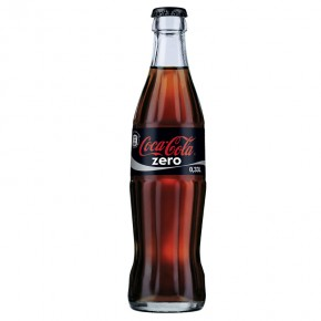 Coca Cola Zero 33 cl vetro