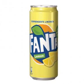 Fanta Lemon Lattina 33 cl