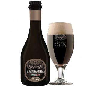 Otus Ambranera Oatmeal Stout Birra Artigianale 33 cl