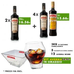 Promo Con 6x bottiglie Averna in omaggio KIT AVERNA