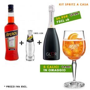 Promo Kit Spritz a Casa   6x Calici Aperol in omaggio