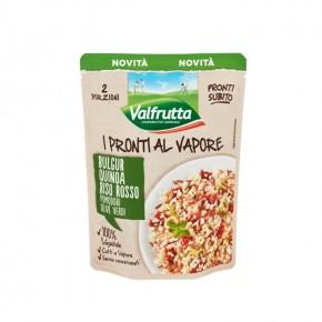 Pronti al Vapore Valfrutta Bulgur Quinoa 200 gr