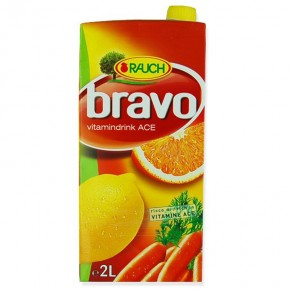 Rauch Bravo Succo ACE 2LT
