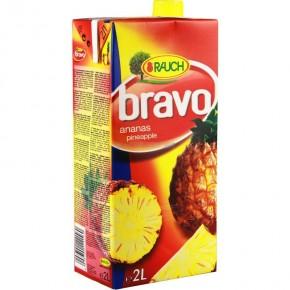 Rauch Bravo Ananas 2 Lt