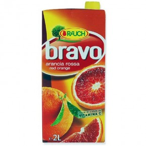 Rauch Bravo Succo Arancia Rossa 2LT