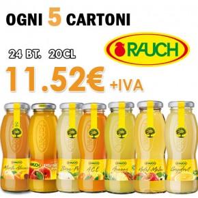 Promo 5x Cart. Succhi Rauch 20cl