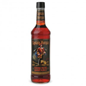 Rum Capitan Morgan Black 1 Lt
