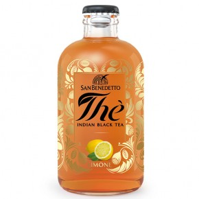 The San Benedetto premium Indian Black Tea Limone 25cl