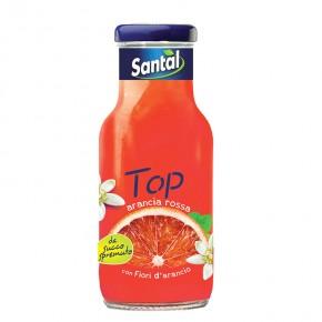 santal top arancia rossa