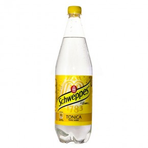 Schweppes Tonica 1LT Plastica
