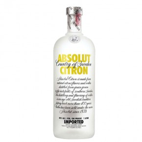 Vodka Absolut Limone 1 Lt