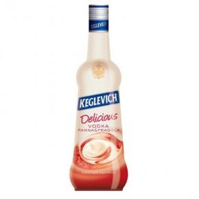 Vodka Keglevich Panna e Fragola 70 cl