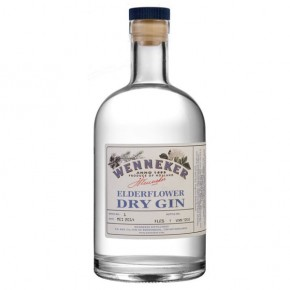 Wenneker Elderflower Dry Gin 70 cl