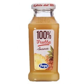 Yoga Ananas 100% Frutta 20 cl