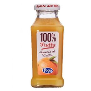 Yoga Arancia Sicilia 100% Frutta 20 cl