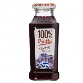 Yoga Mirtillo 100% Frutta 20 cl