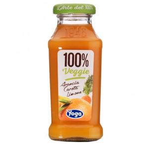 Yoga Arancia Carota Limone 100% Veggie 20 cl