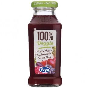 Yoga Frutti di Bosco Barbabietola Carota Nera 100% Veggie 20 cl