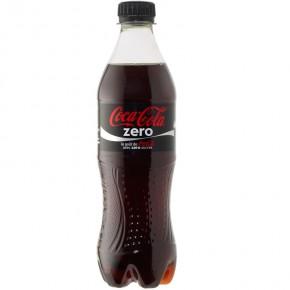 Coca Cola Zero 50cl Plastica